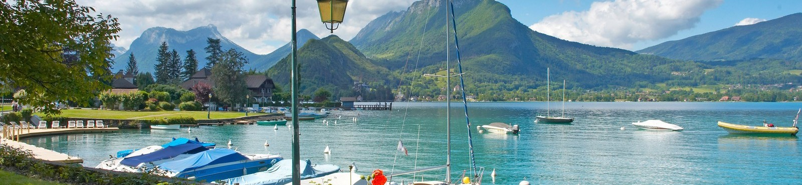 Annecy Lake in Luxury